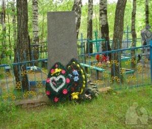 Братская могила в деревне Каменка